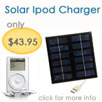 Solar Ipod Charger