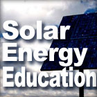 Solar energy education