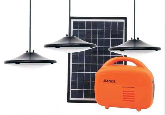 Dasol Off Grid Solar Lighting And Charging Kit