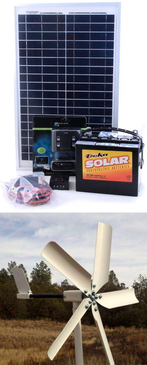 Hybrid 50w Wind And 20w Solar Do It Yourself Kit