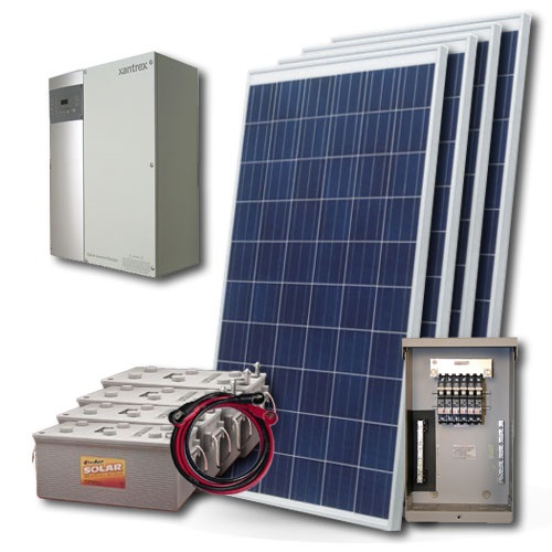 0 5kw 2kw The Camper Off Grid Solar Kit