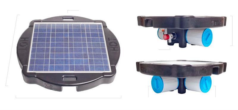Savior Solar Pool Pump And Filter System