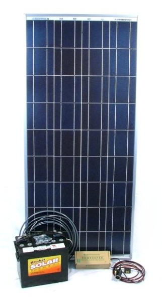 80w economy plug n play solar energy kit. Black Bedroom Furniture Sets. Home Design Ideas