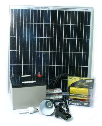 60W Deluxe Do-It-Yourself Solar Energy Kit