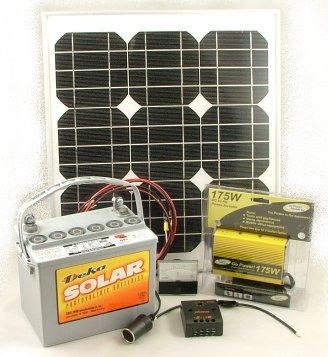 20w Do It Yourself Solar Energy Starter Kit